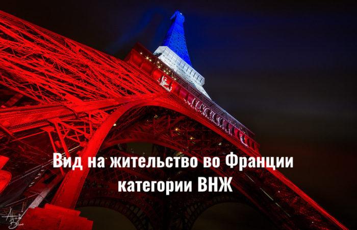 Вид на жительство во Франции: категории ВНЖ
