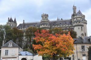 Замок Пьерфон (ШатодеПьерфон)  красивые шато Франции