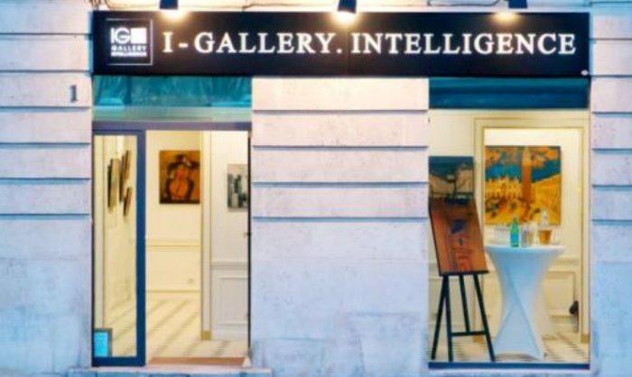 Фото: Аннонс предстоящих выставок в русской галерее I-Gallery.Intelligence