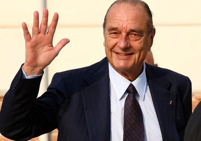 Фото: Скончался бывший президент Франции Жак Ширак