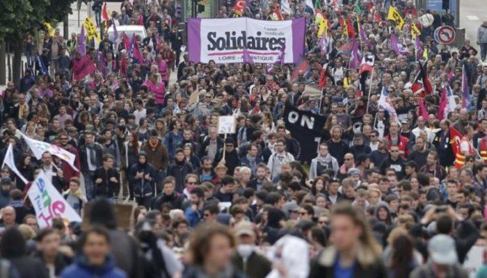 Париж 1 декабря захлестнет волна манифестаций