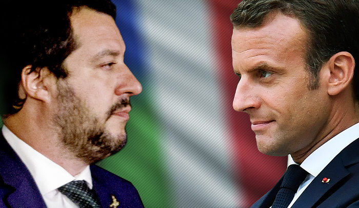 Конфликт между Италией и Францией.Хронология событий.