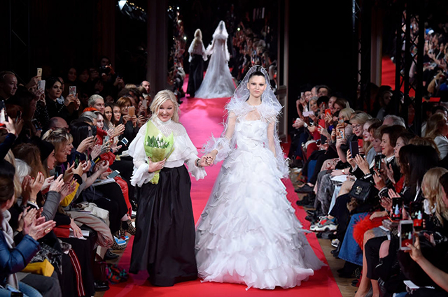 Фото: Yanina Couture представила свою коллекцию на Неделе высокой моды