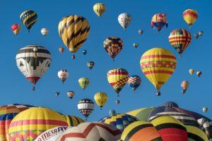 Фестиваль воздушных шаров в Шамбли