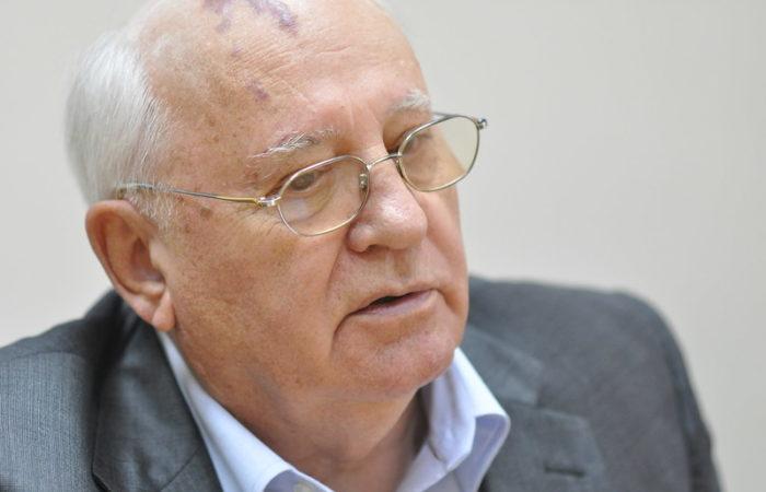Фото: Михаил Горбачёв написал письмо Владимиру Путину и Эммануэлю Макрону