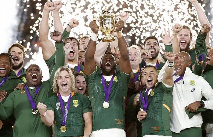 Фото: Сборная ЮАР в 3-й раз выиграла Кубок мира по регби
