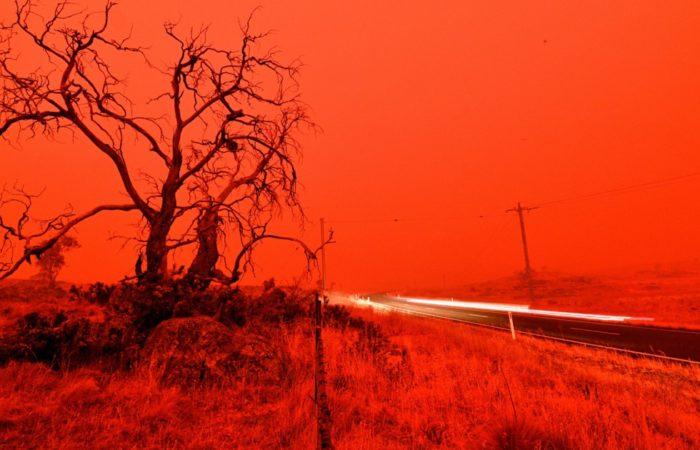 В Австралии не прекращаются сильнейшие пожары