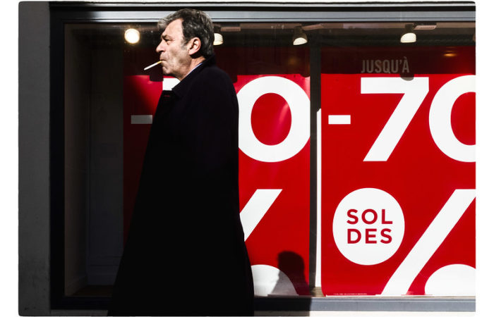Зимние распродажи во Франции