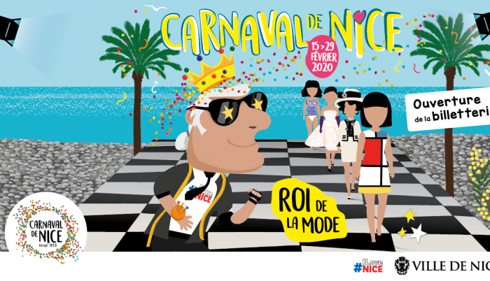 Фото: Ежегодный карнавал в Ницце 2020