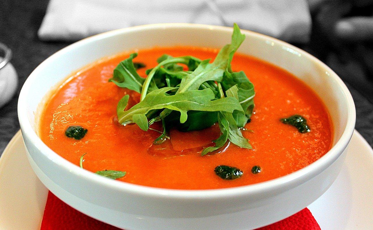 Холодный суп Гаспаччо – летний фаворит