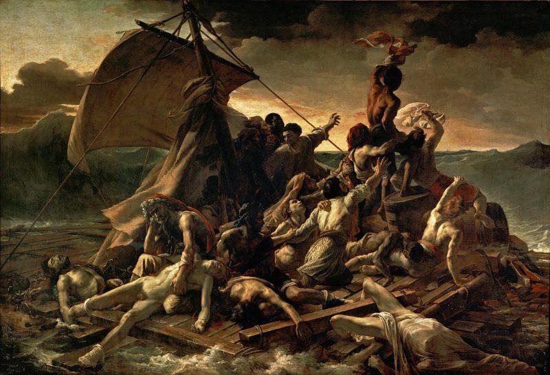 Картина «Плот «Медузы». 1818-1819. Париж, Лувр