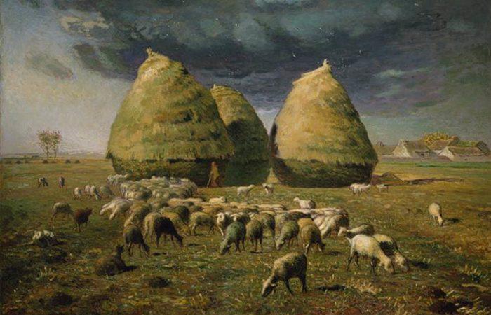 Фото: Искусство по-французски: художник Жан-Франсуа Милле́