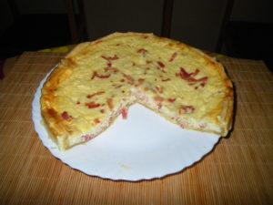 Киш Лорен – открытый французский пирог
