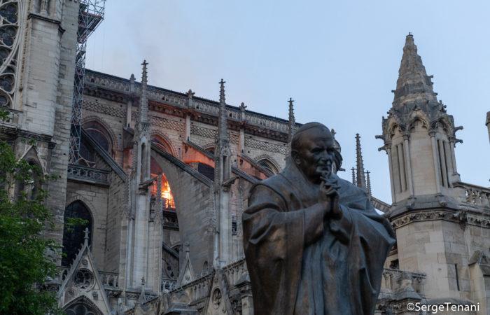 Фото: Год после пожара собора Нотр-Дам-де-Пари