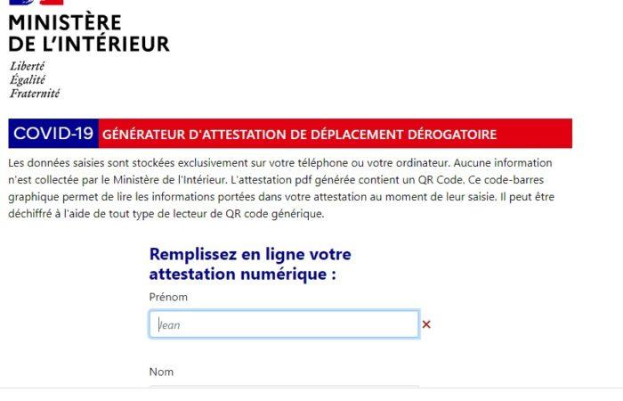 Фото: Разрешение на выход из дома во Франции теперь доступно в электронном формате