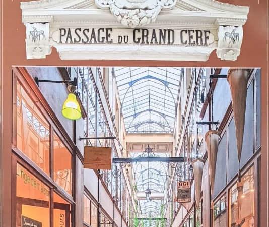 Крытые пассажи и галереи Парижа: пешеходный машрут