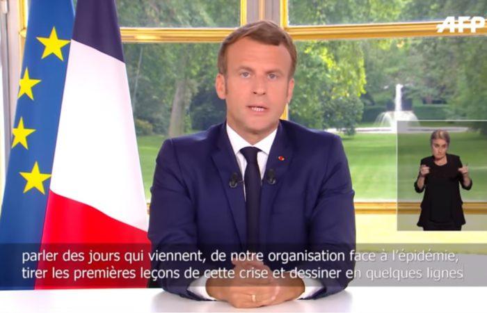 Фото: Выступление президента Макрона: третья фаза выхода из карантина во Франции