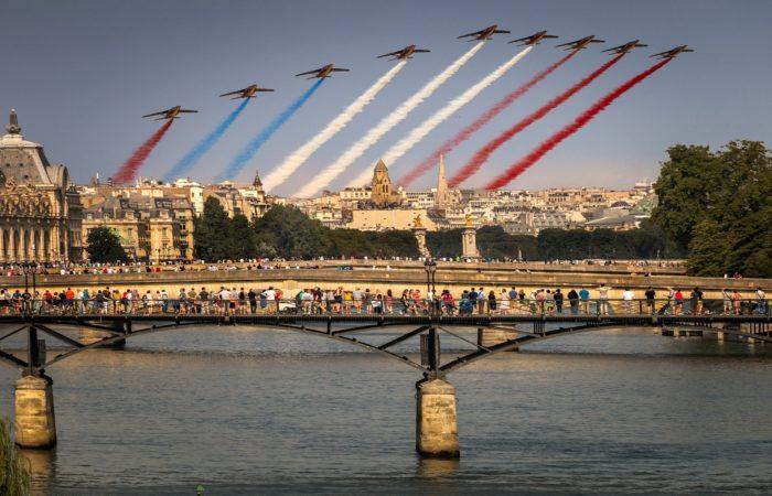 Как Франция отметит День взятия Бастилии ?