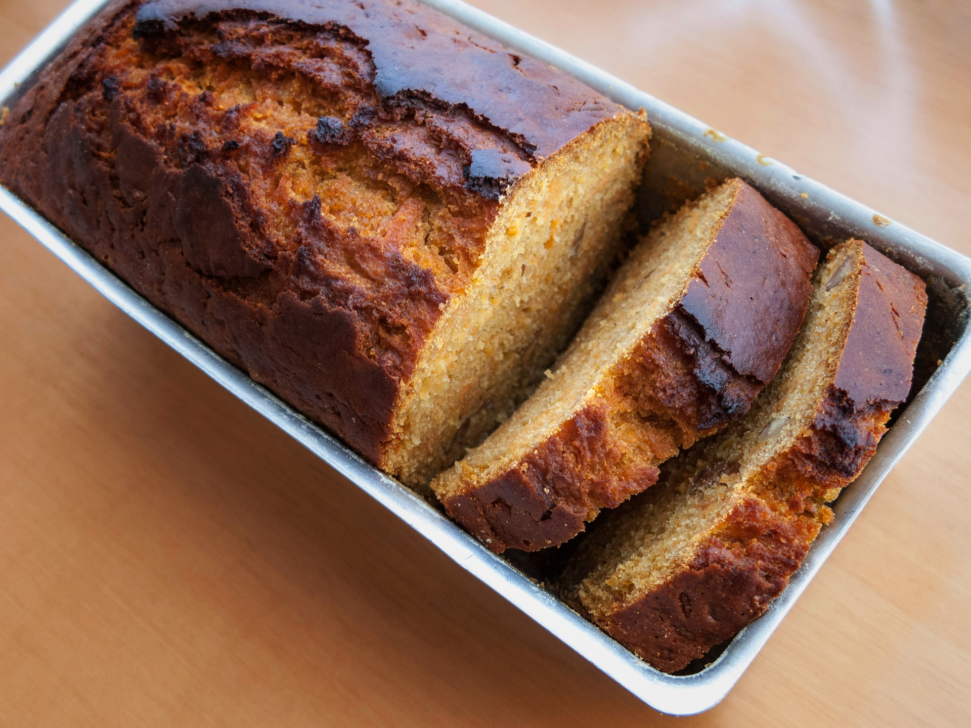 Морковный пирог без муки и сахара