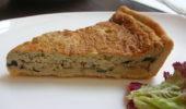 Луковый пирог писсаладьер (вегетарианский)