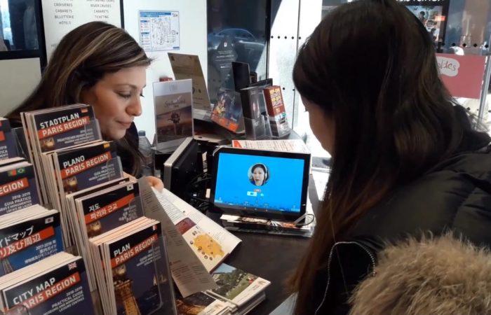 Фото: Онлайн переводчик для туристов Ouispeak во Франции – startup