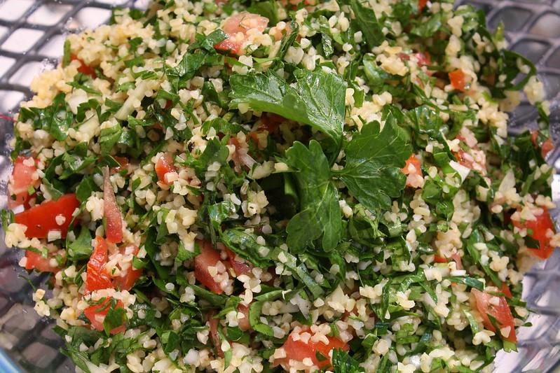 Табулe – восточное блюдо с мятой и оливковым маслом