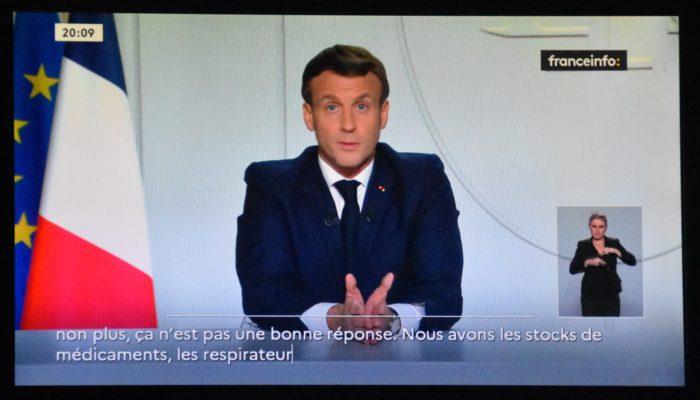 Введение карантина во Франции: основные меры озвученны Эммануэлем Макроном