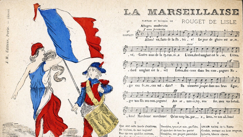 Гимн Франции «Марсельеза» - учим слова