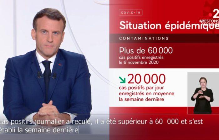 Главное из обращения Эммануэля Макрона к жителям Франции 24 ноября