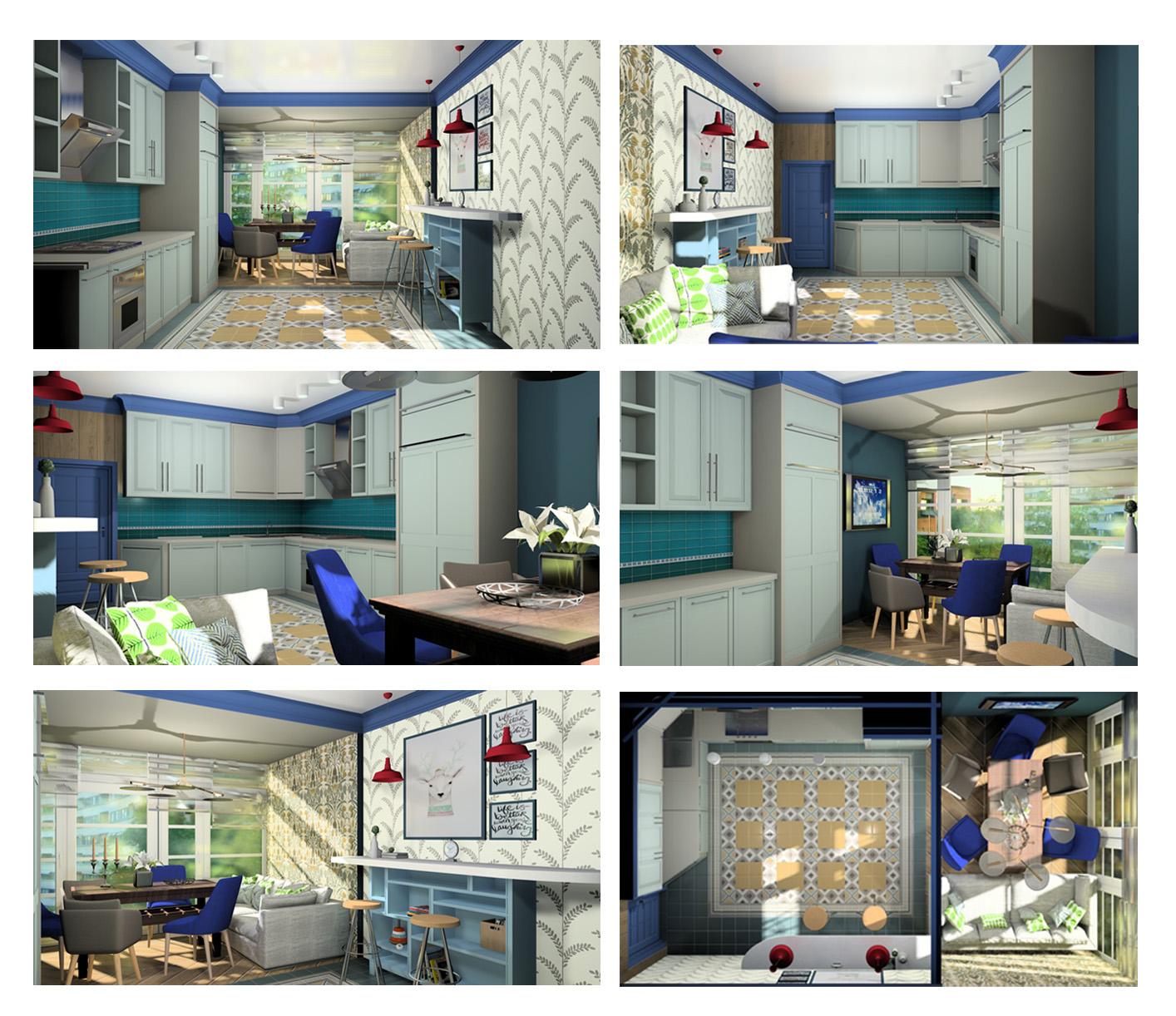 Дизайн жилья самостоятельно: кухня