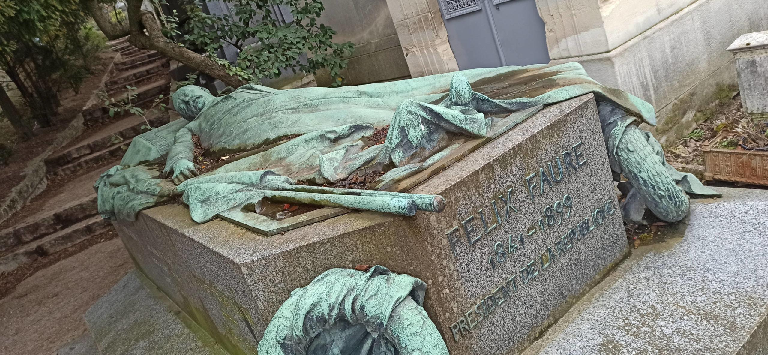 Феликс Фор - кладбище Пер Лашез в Париже