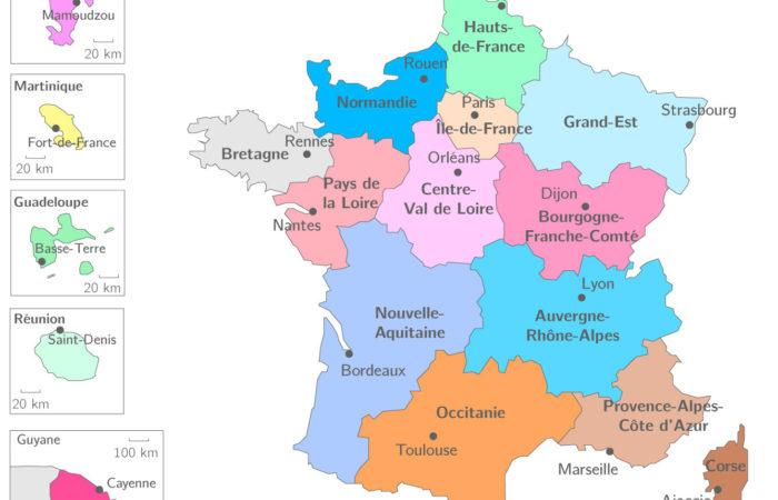 Регионы Франции