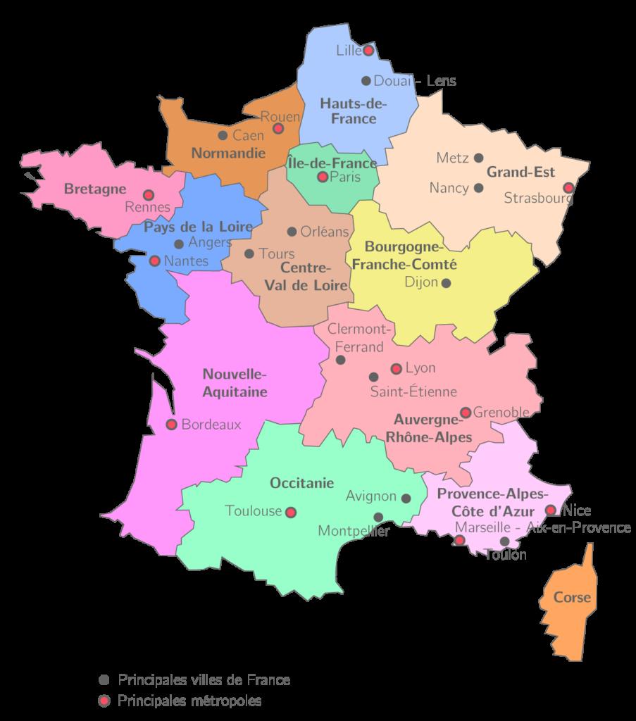 20 самых больших городов Франции