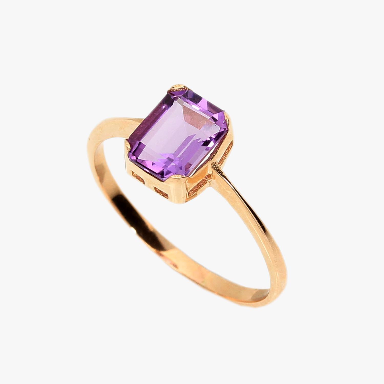 Кольцо с полудрагоценным камнем